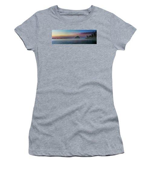 Moro Bay Calm  Pano Women's T-Shirt