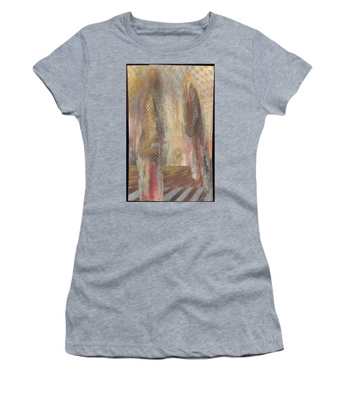 Motives Lay Bare Women's T-Shirt (Athletic Fit)