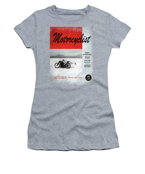 Motorcyclist Magazine - Rollie Free Women's T-Shirt