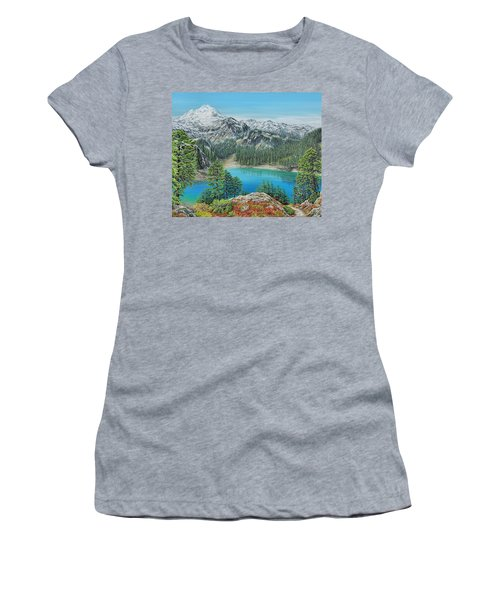 Mount Baker Wilderness Women's T-Shirt (Athletic Fit)