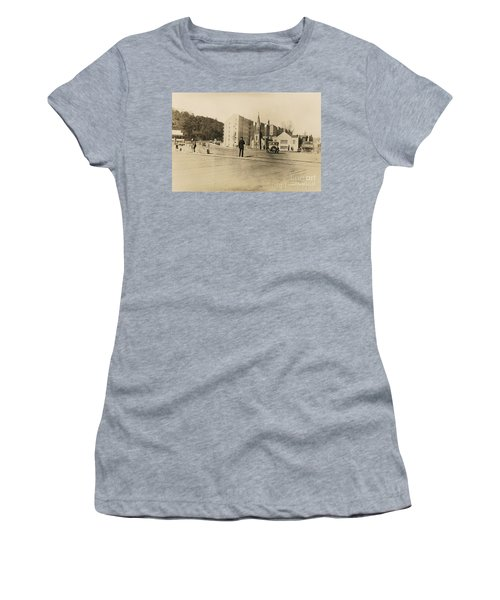 Women's T-Shirt (Athletic Fit) featuring the photograph Mount Washington Church  by Cole Thompson