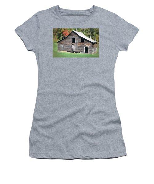 Mountain Barn Women's T-Shirt (Junior Cut) by Marion Johnson