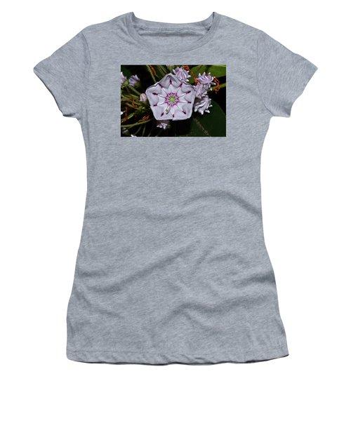 Mountain Laurel 005 Women's T-Shirt (Junior Cut) by George Bostian