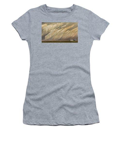 Mountain Patterns, Padum, 2006 Women's T-Shirt