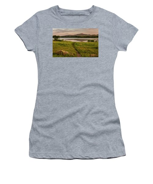Mountain Trail Women's T-Shirt (Athletic Fit)