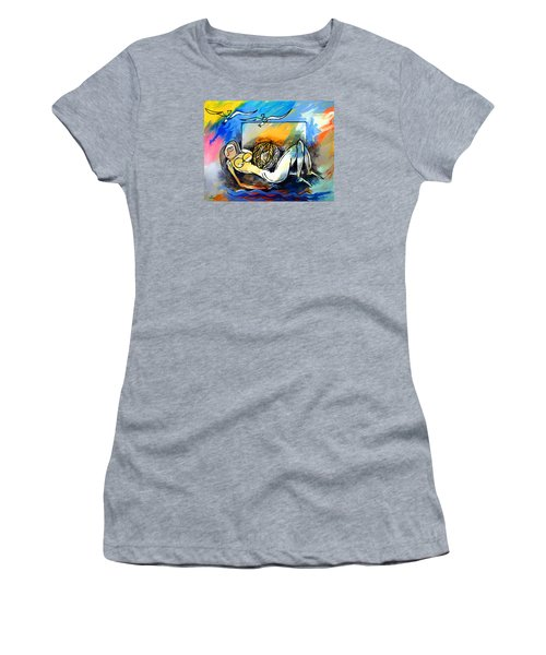 Mr Ameeba 9 Women's T-Shirt (Athletic Fit)