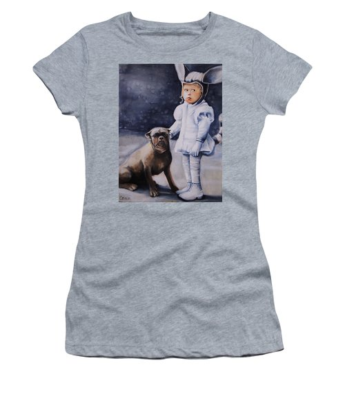 Mr Moonbeams  Women's T-Shirt (Junior Cut) by Jean Cormier