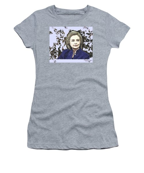 Mrs Hillary Clinton Women's T-Shirt (Athletic Fit)
