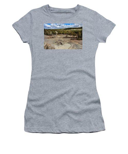 Mud Volcano Women's T-Shirt