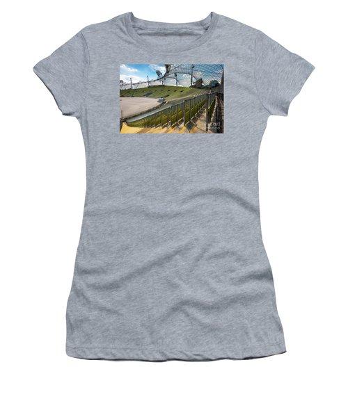Munich - Olympic Stadium Women's T-Shirt (Athletic Fit)