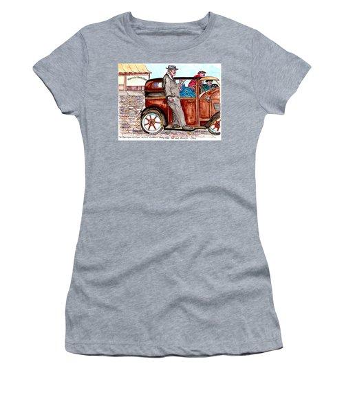 Murder On Hamilton Avenue, Red Hook, Brooklyn Women's T-Shirt (Athletic Fit)