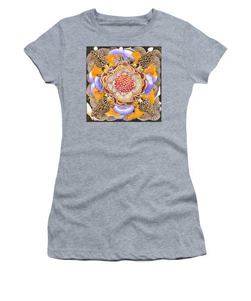 Mushroom Mandala Women's T-Shirt