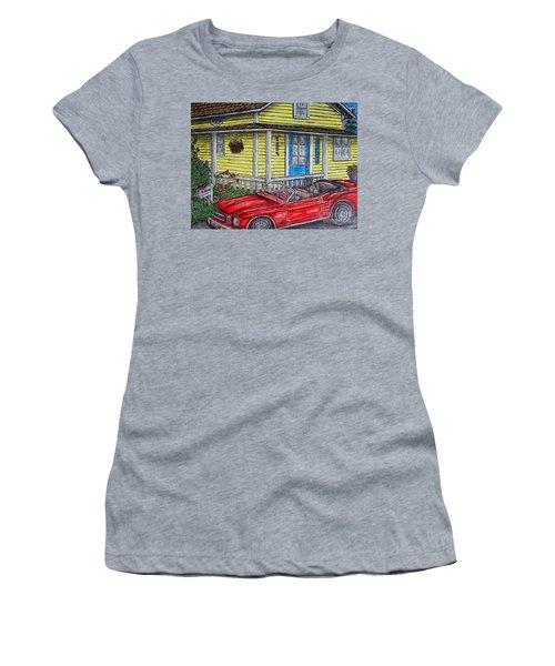 Mustang Sallys' Place Women's T-Shirt