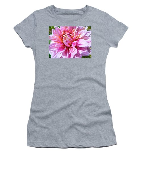 My First Dahlia Women's T-Shirt (Athletic Fit)