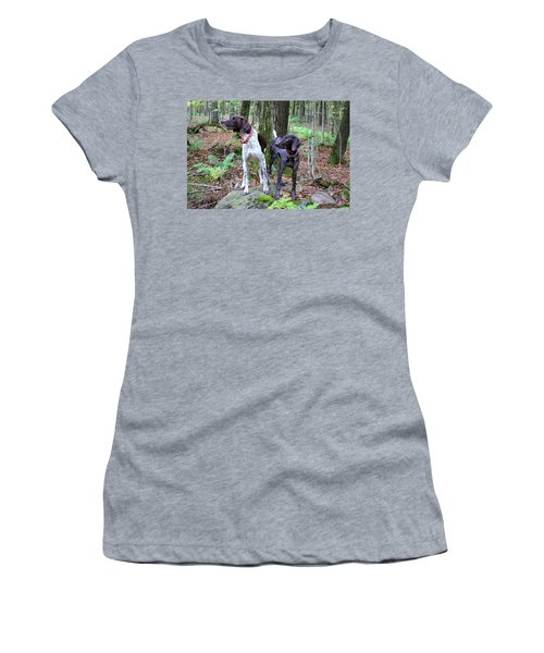 My Girls Women's T-Shirt (Athletic Fit)