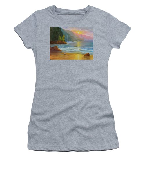 My Happy Place Women's T-Shirt (Athletic Fit)