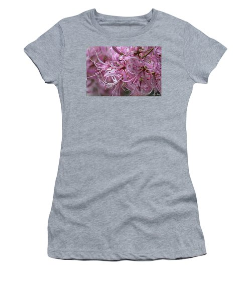 My Heart Is Pink Women's T-Shirt (Athletic Fit)