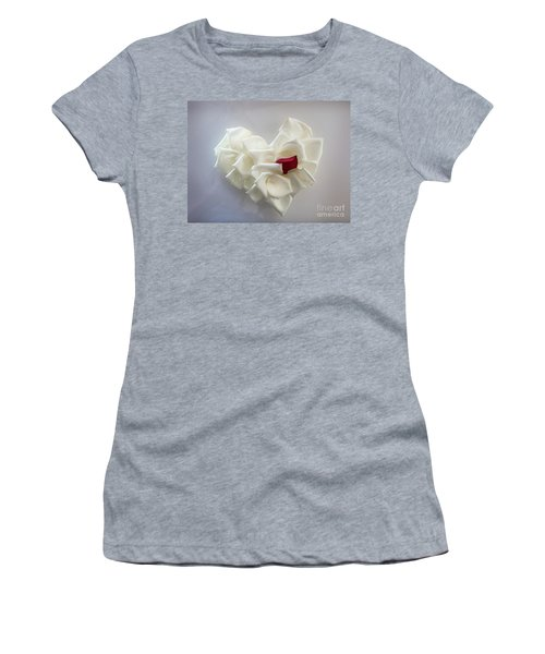 My Heart Women's T-Shirt (Athletic Fit)
