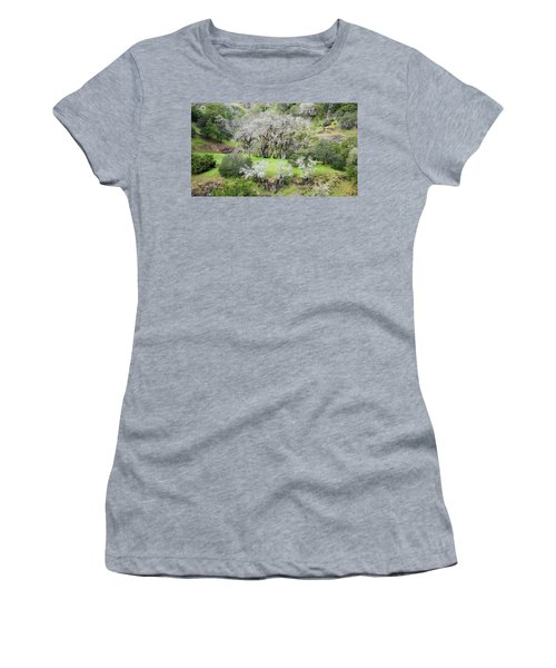 Mysterious Landscape In Sonoma County Women's T-Shirt