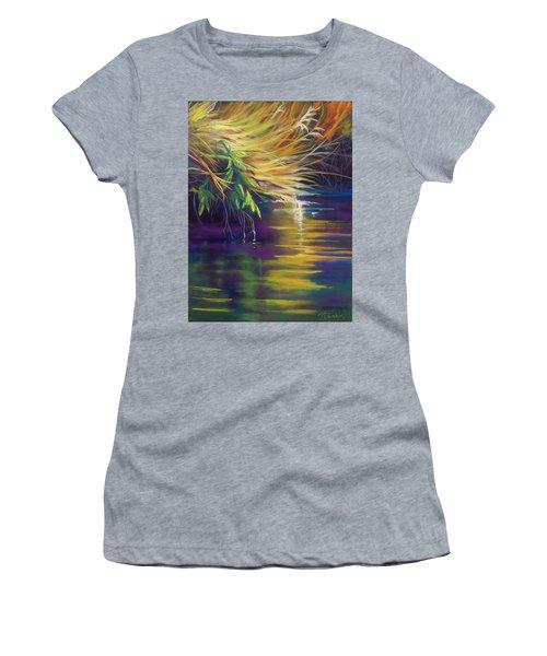 Mystic Grasses Women's T-Shirt (Athletic Fit)