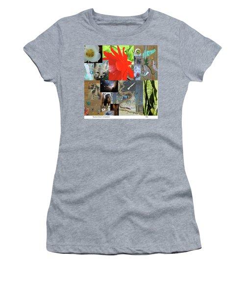 Mystical Desert Compilation Women's T-Shirt (Junior Cut) by Mary Ann  Leitch