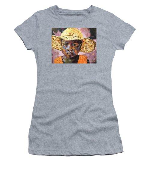 Madagascar Farm Girl Women's T-Shirt (Athletic Fit)