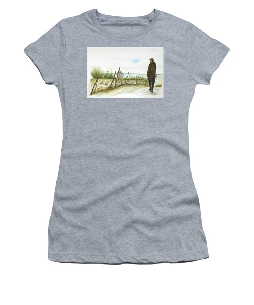 Napatree Point Watch Hill, Ri Women's T-Shirt