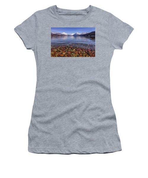 Nature's Colors Women's T-Shirt (Athletic Fit)