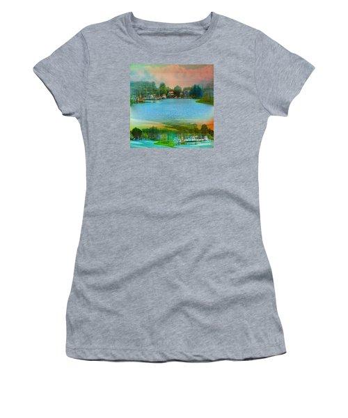 Nature's Magical Sunsets Women's T-Shirt (Junior Cut) by Judy Palkimas
