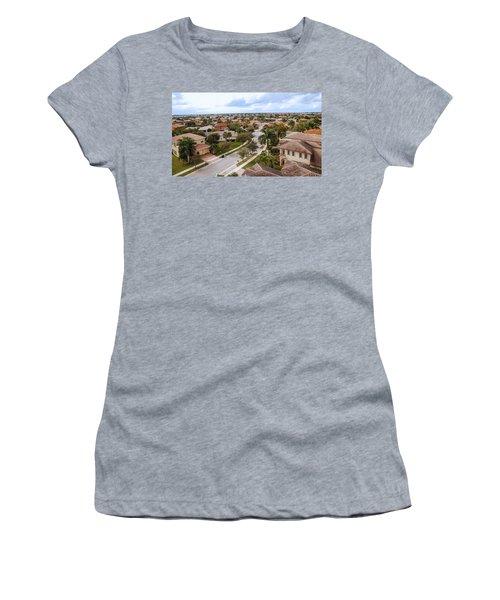 Neighborhood Aerial Women's T-Shirt