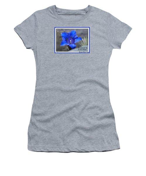 Never Be Cruel Women's T-Shirt (Junior Cut)