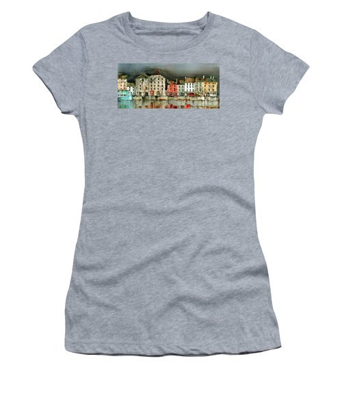 New Ross Quays Panorama Women's T-Shirt (Athletic Fit)