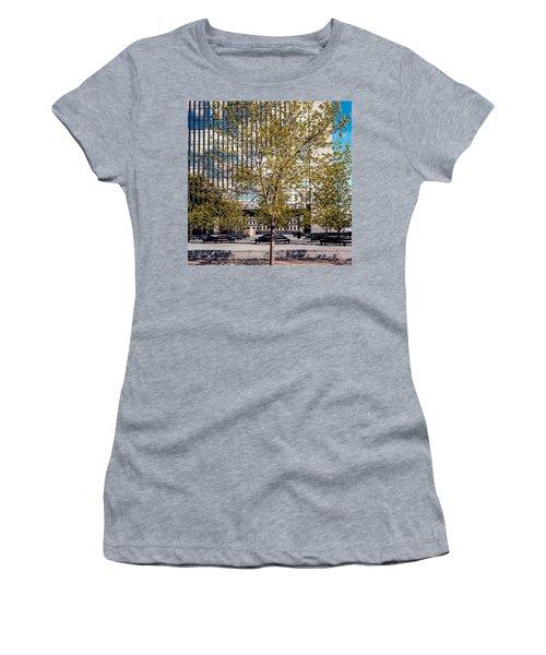 Trees On Fed Plaza Women's T-Shirt