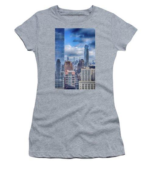 New York Cityscape Women's T-Shirt (Junior Cut)