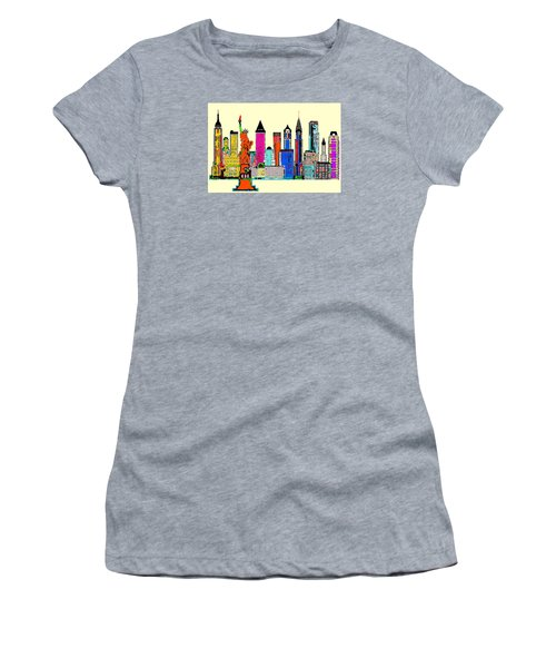 New York - The Big City Women's T-Shirt