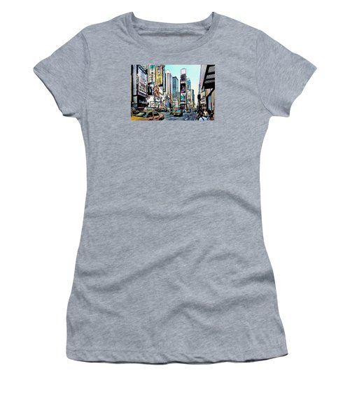 New York Times Square Women's T-Shirt