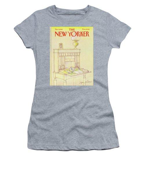 New Yorker Cover December 6th 1982 Women's T-Shirt