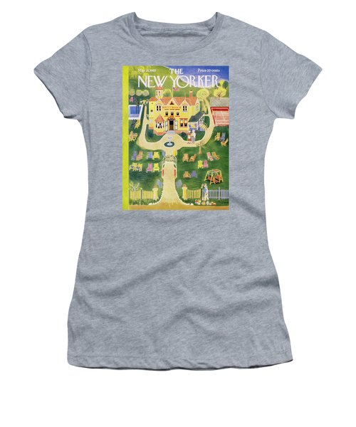 New Yorker May 21 1955 Women's T-Shirt (Athletic Fit)