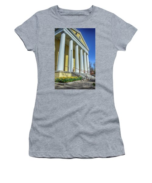 Newburgh Courthouse On Grand Street 2 Women's T-Shirt (Athletic Fit)