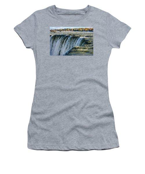 Niagara Falls In Autumn Women's T-Shirt