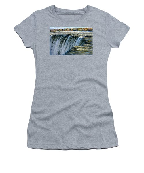 Niagara Falls In Autumn Women's T-Shirt