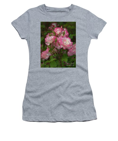Nicole Roses Women's T-Shirt (Athletic Fit)
