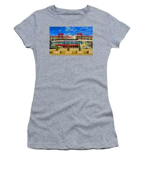 Nissan Stadium Home Of The Tennessee Titans Women's T-Shirt