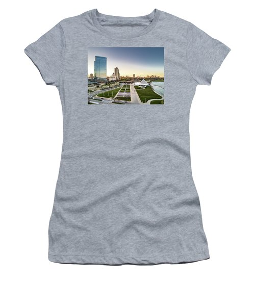Women's T-Shirt (Athletic Fit) featuring the photograph Nml And Mam by Randy Scherkenbach
