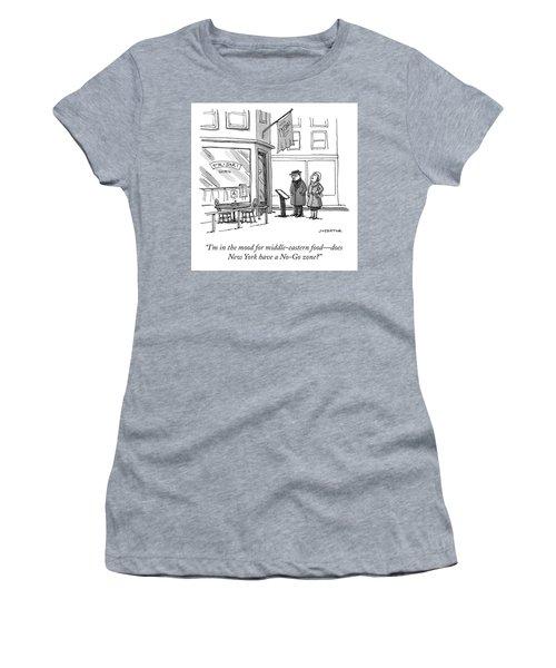 No Go Zone Women's T-Shirt