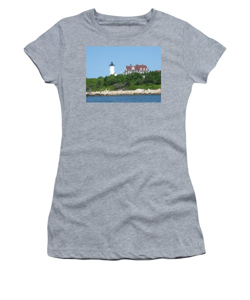 Nobska Point Lighthouse Women's T-Shirt