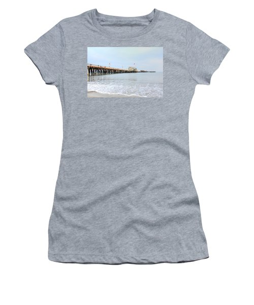 North Side Stearn's Wharf Women's T-Shirt (Athletic Fit)