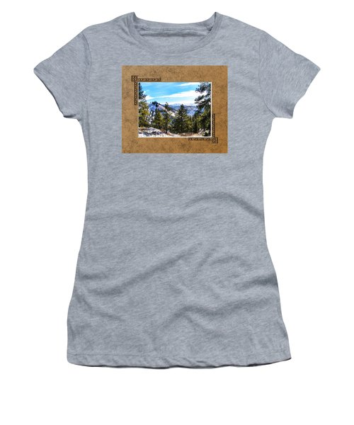 Women's T-Shirt (Junior Cut) featuring the photograph North View by Susan Kinney