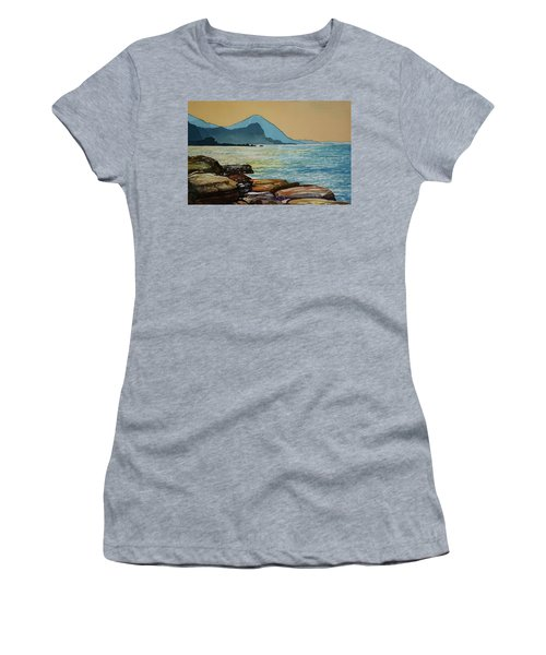 Northeast Coast Of Taiwan Women's T-Shirt (Athletic Fit)