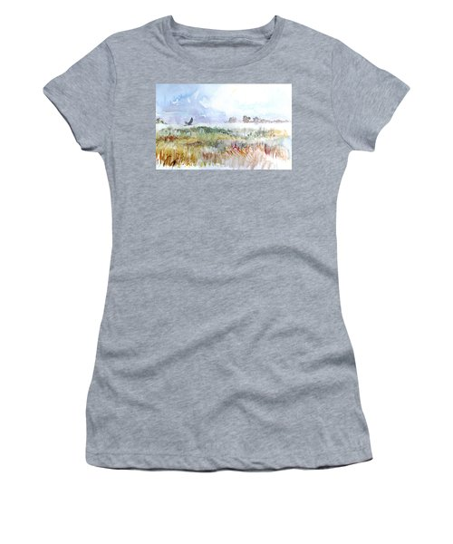 Northern Harrier Women's T-Shirt (Athletic Fit)